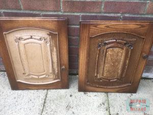 Kitchen doors before